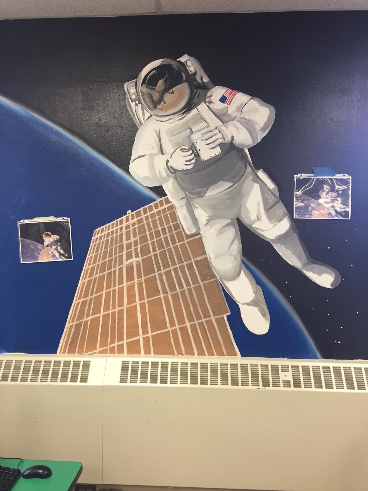 Astronaut Mural
