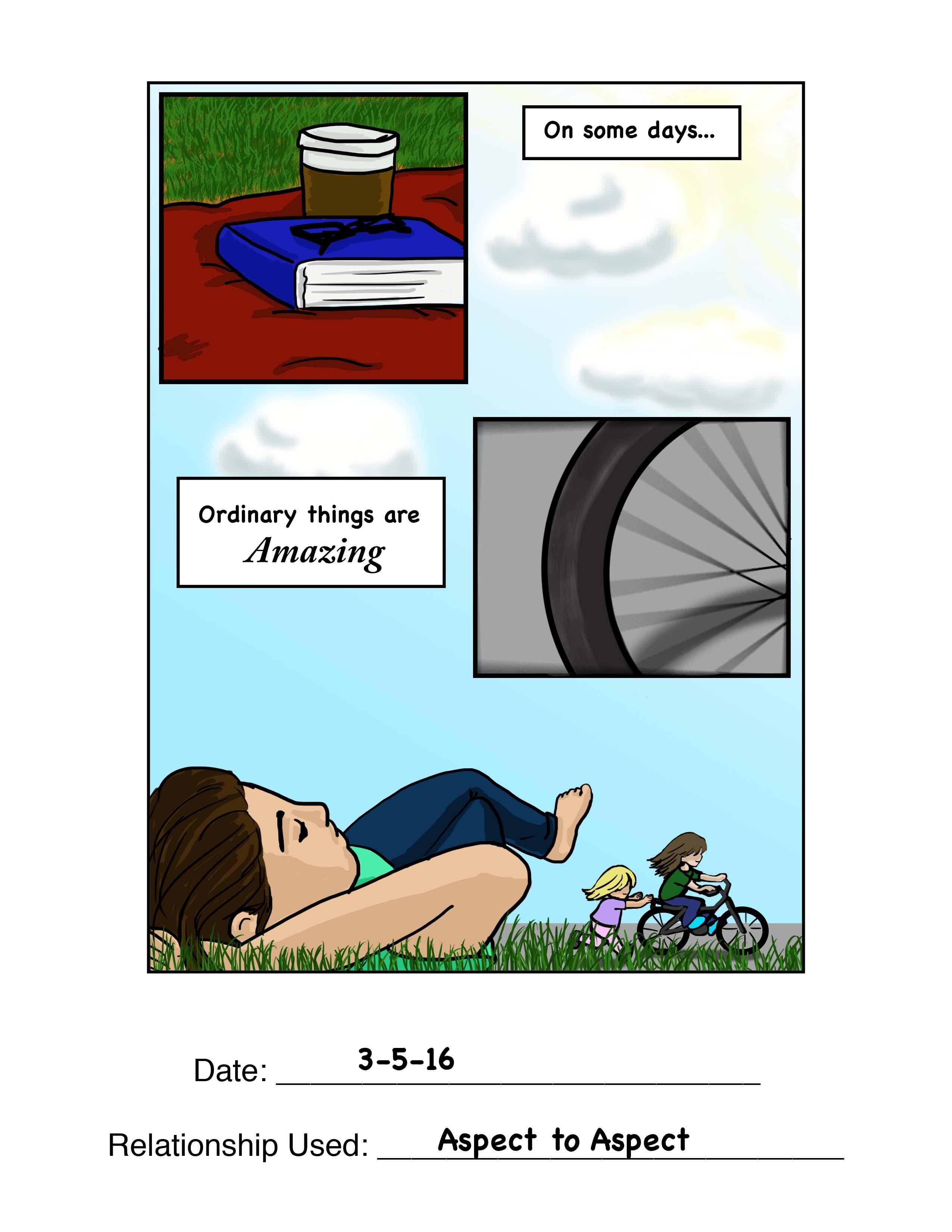 Aspect to Aspect Comic