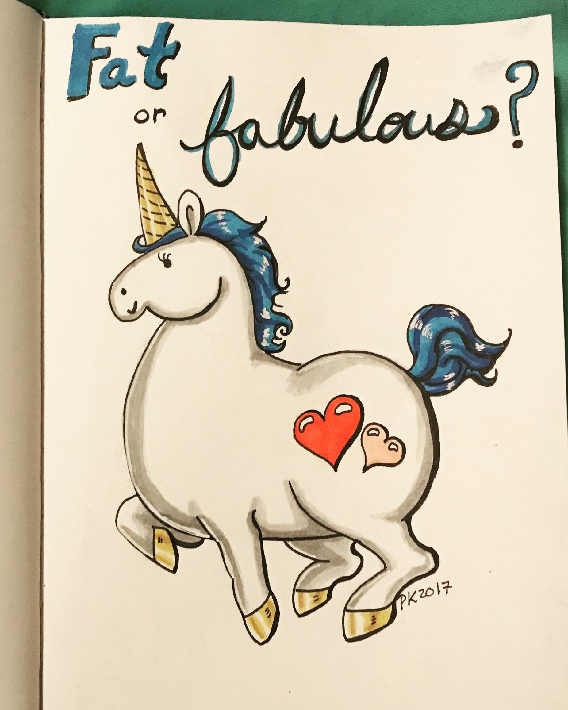 Fat or fabulous?