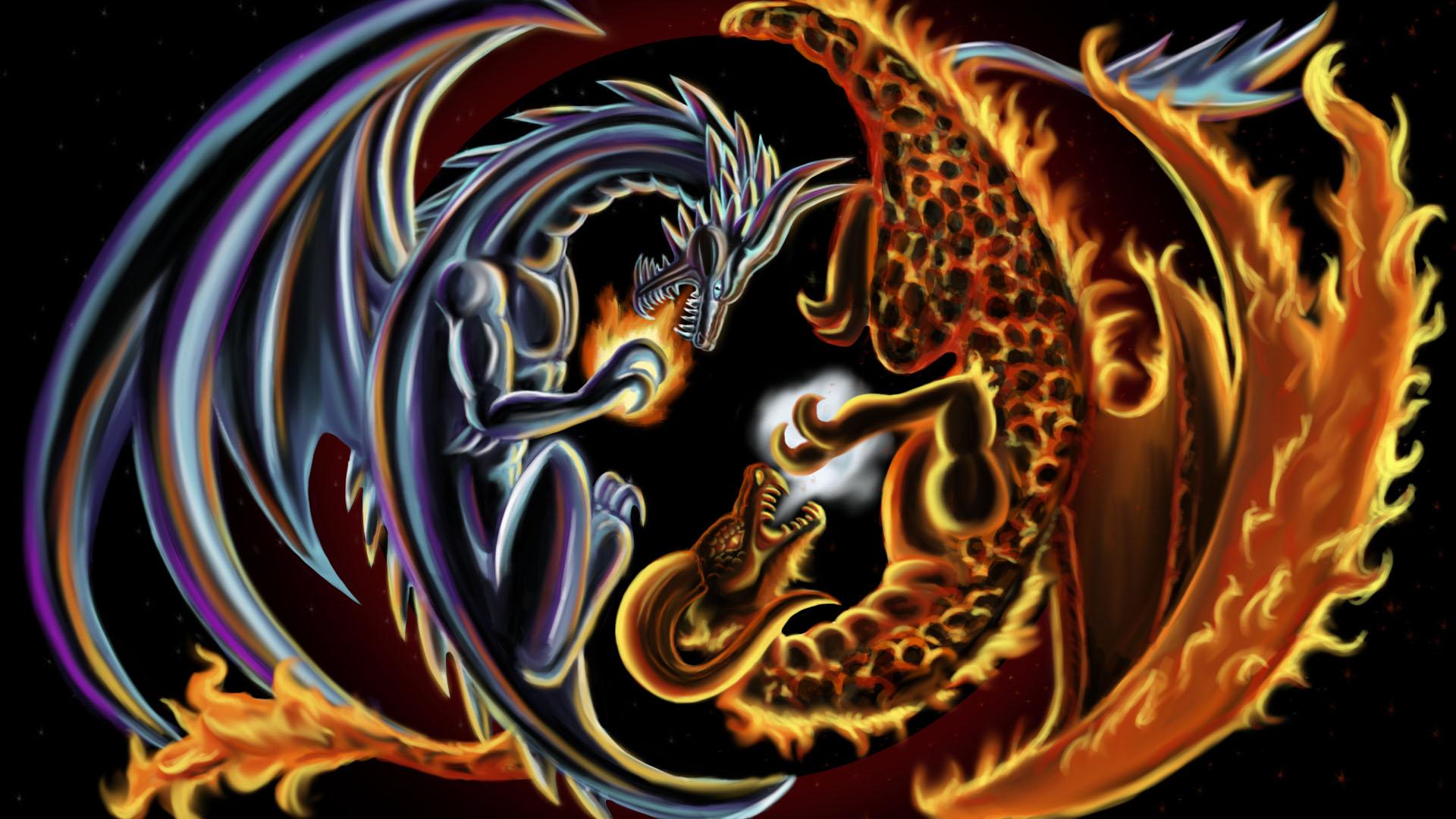 Fire Ice Dragon