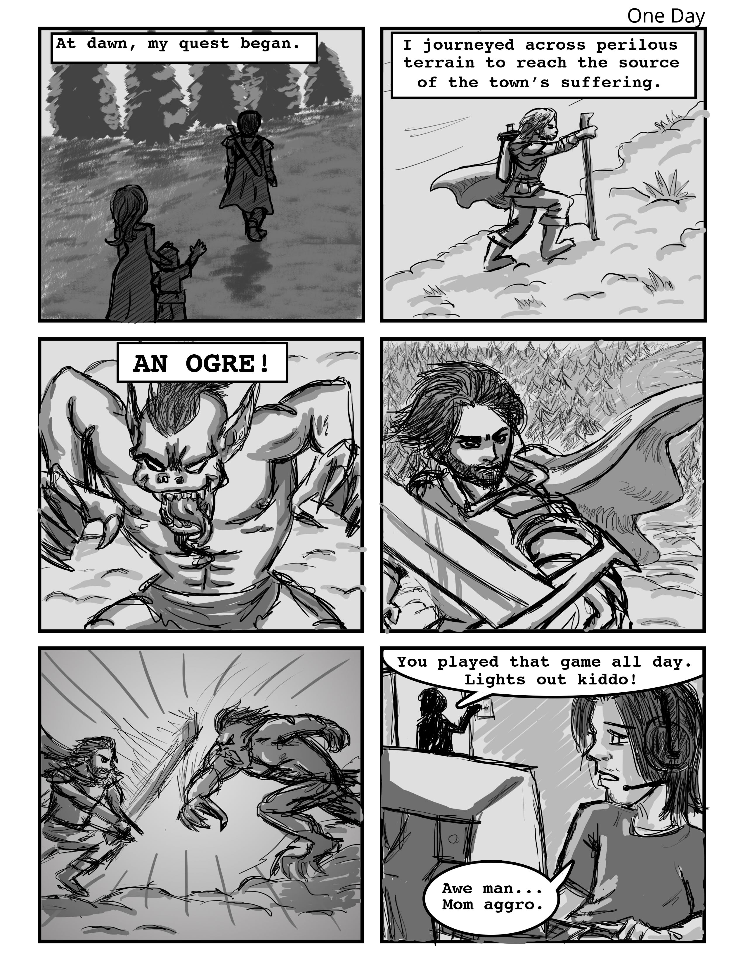 One Day Comic