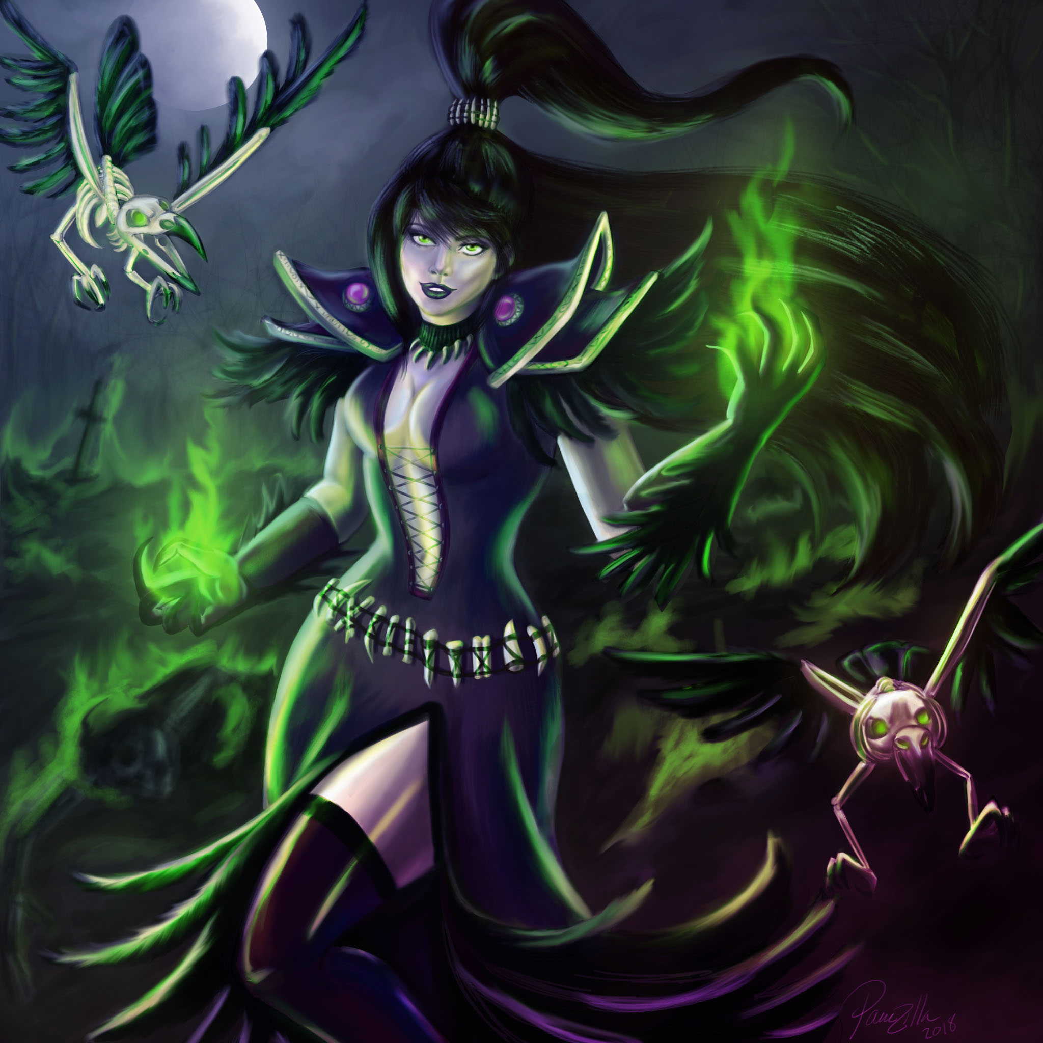 Corvina the Raven Witch